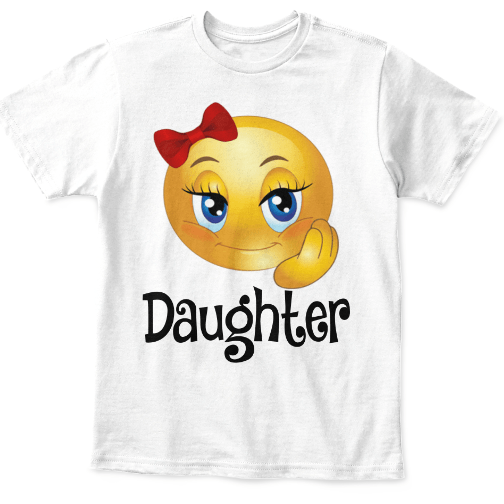 Couple Tee - CUTE SMILEY T-SHIRTS FOR FAMILY, ON SUMMER SALE @50% OFF