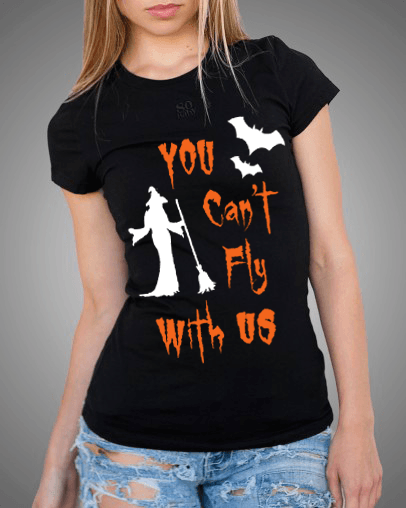 """You Can't Fly With Us""(50% Off Today)Flat Shipping"