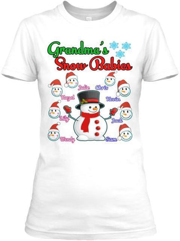 Grandma - Grandma's/ Grandpa's Snow Babies Christmas Special(Flat 70% Off) Exclusive On Store 'Tis The Season. Most GrandParents/Parents Buy 2-5