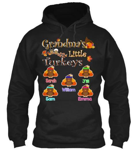 Grandma - Grandma's Little Turkeys, Thanksgiving (50% Off On Special Holiday Season)