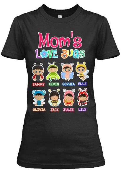 Grandma - Grandma's/Mom's Love Bugs (70% Off Today)For Hispanic Kids T-Shirt