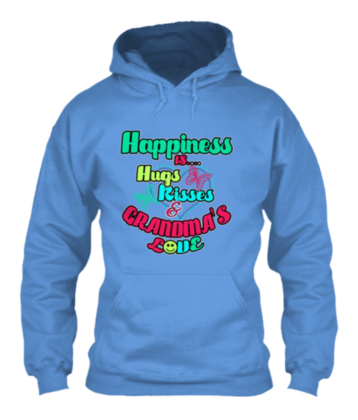 Grandma - Happiness Is Hugs & Kisses..( 70% Off Today)