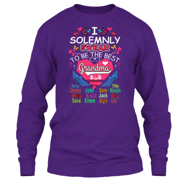 "Grandma - ""I Solemnly Swear To Be..."" - Colors (Save 70% Today)"