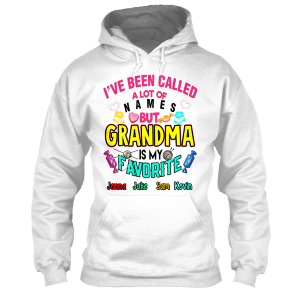 "Grandma - ""I've Been Called..."" Black/White Shirts( 70% Off Today)"
