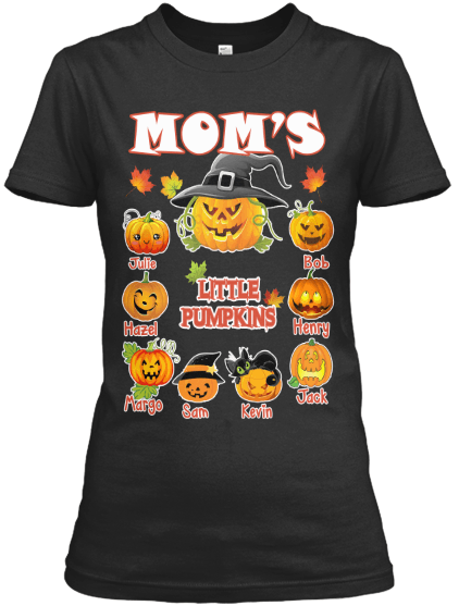 Grandma - Mom's Little Pumpkins Halloween Special (Flat 70% Off) Exclusive Orange Shade Available.