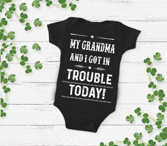 "Grandma - ""MY GRANDMA AND I GOT IN TROUBLE TODAY "" New Design Special Off For Today"