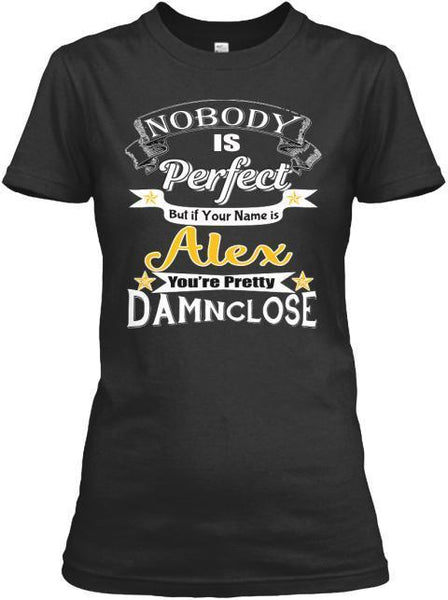 Grandma - Nobody Is Perfect- Custom Tee (Save 60% Today) Get Your Name Printed On Shirt And More