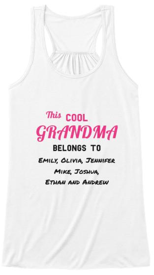 Grandma - Proud Grandma - Custom ( 50% Off)