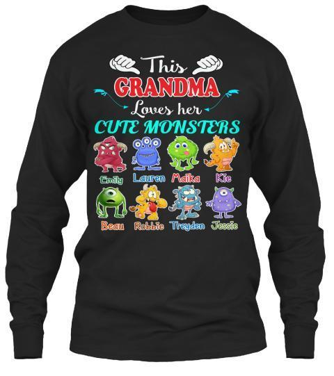 Grandma - This Grandma Loves Her Cute Monsters (Most Grandmas Buy 2 Or More)