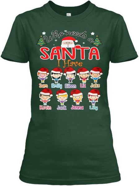 Grandma - Who Needs A Santa Christmas Special(Flat 70% Off) Your Very Own Nana Kids Are Back In Exclusive Colors And In Christmas Mood.