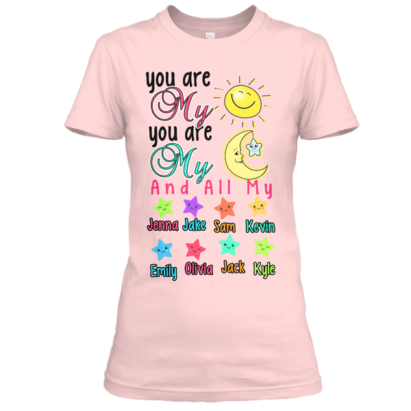 "Grandma - ""You Are My..."" Colors - Custom Tee (Save 70% Today)"