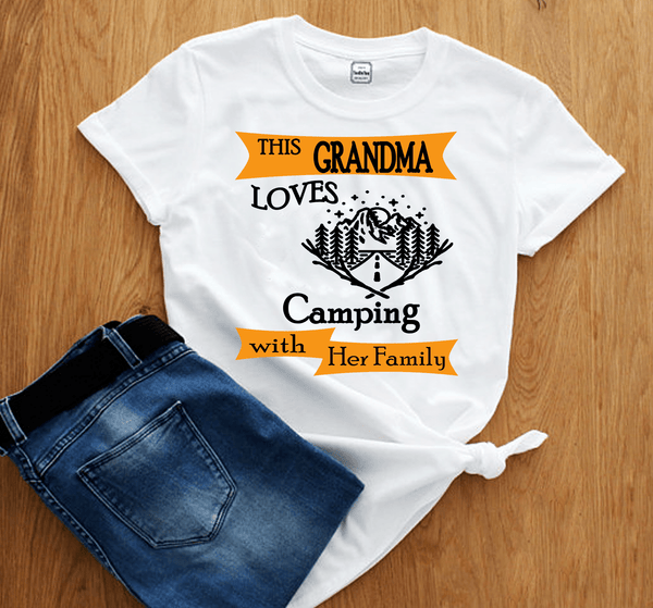 """This Grandma Loves Camping With Her Family""(50% Off)"