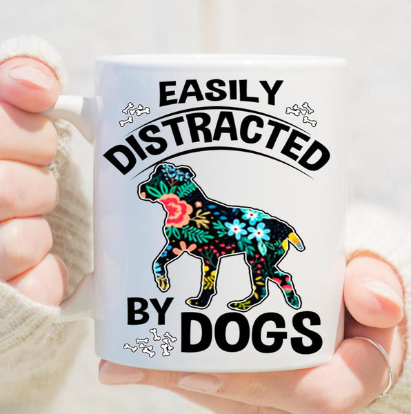 Grandpa - Distracted By Dogs (Special Mugs 50% Off Today) Flash Sale For Dog Lovers