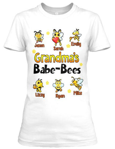 "Grandpa - Grandma's Babe-Bees (Most Grandpa Buy 2 Or More)Exclusive InStore"" Flash Sale"