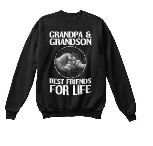 Grandpa - GrandPa And GrandSon. Best Friends For Life ( 70% Off For Today).