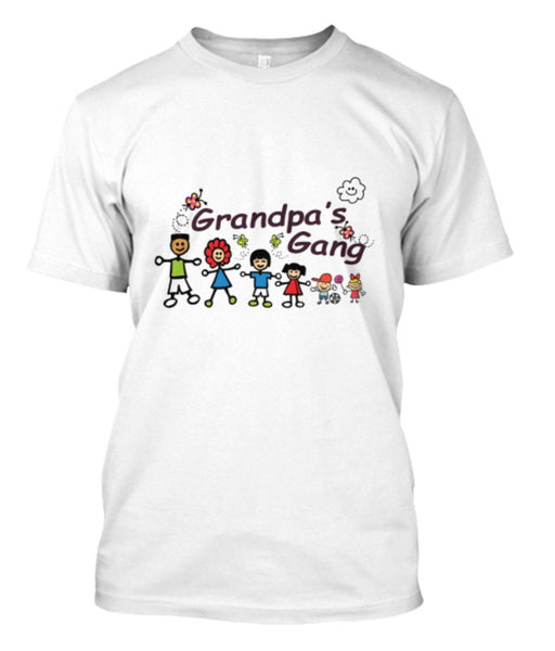 Grandpa - Grandpa's Gang Custom Shirts ( 70% Off Today)