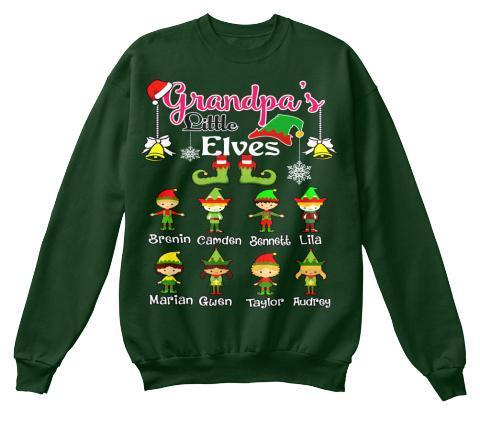Grandpa - Grandpa's Little Elves ( 70% Off For Today). Christmas Special For Grandpa's