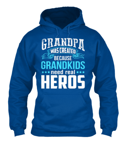 "Grandpa - ""Grandpa's Were Created..."" T-shirt ( 70% Off)"