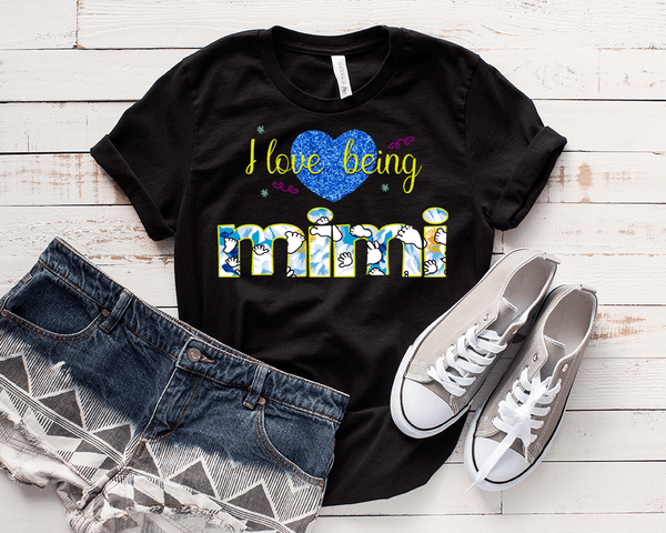 """Love Being Nana"" Flat Shipping. Personalize Your Nick Name.. (70% OFF Today Only)"