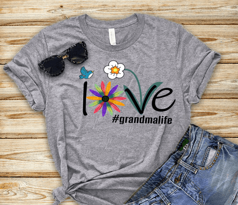 """Love Grandma Life""(50% Off) Flat Shipping."