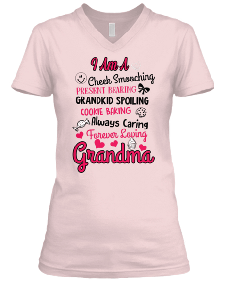 "Mom - ""I Am A Grandkid Spoiling....Grandma"" Cool Shirt"