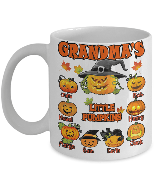 "Mug - ""Coffee With Grandkids"" Custom ""Halloween Speical"" Mug"