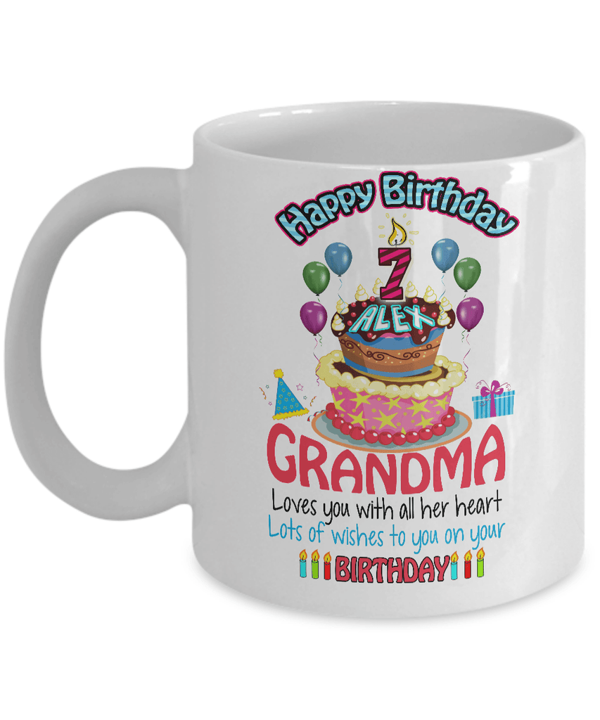Mug - Grandkid Birthday Gift. Use As Coffee/Milk Mug/ Pen Stand (70% OFF Today).