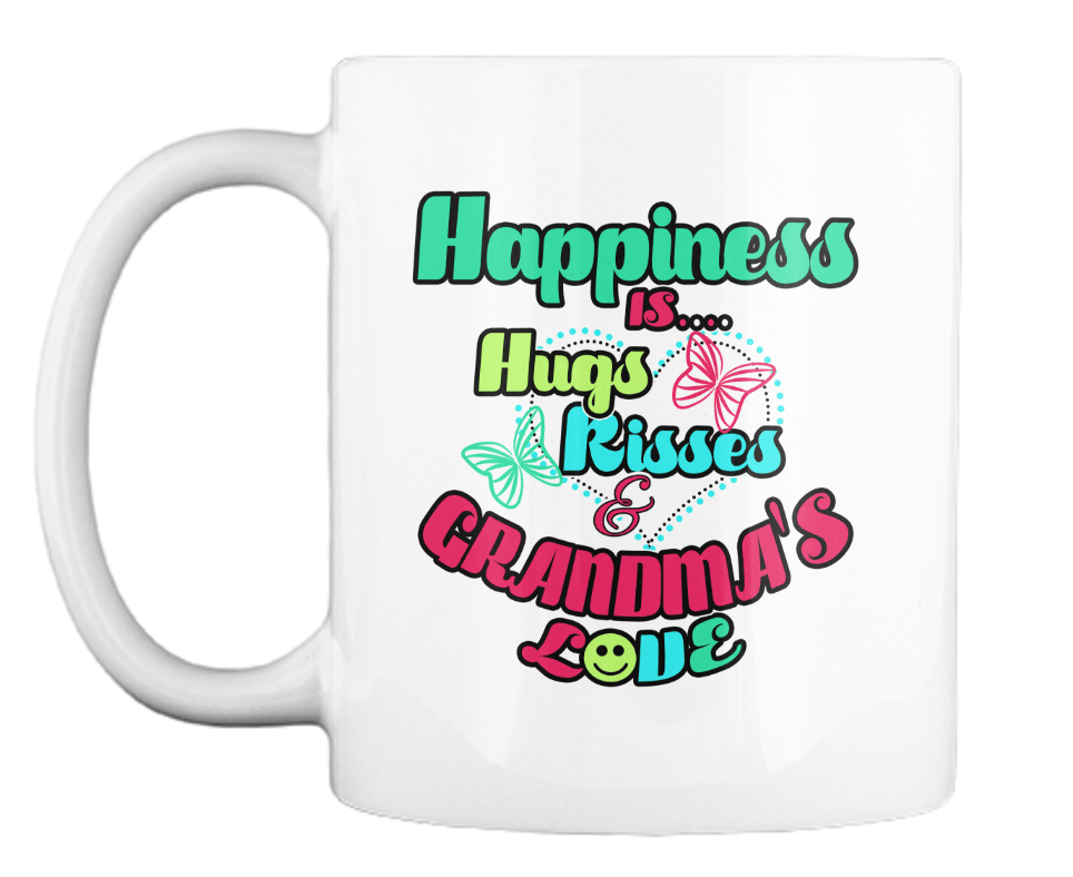Mug - Happiness Is...Grandma's Love - Mug