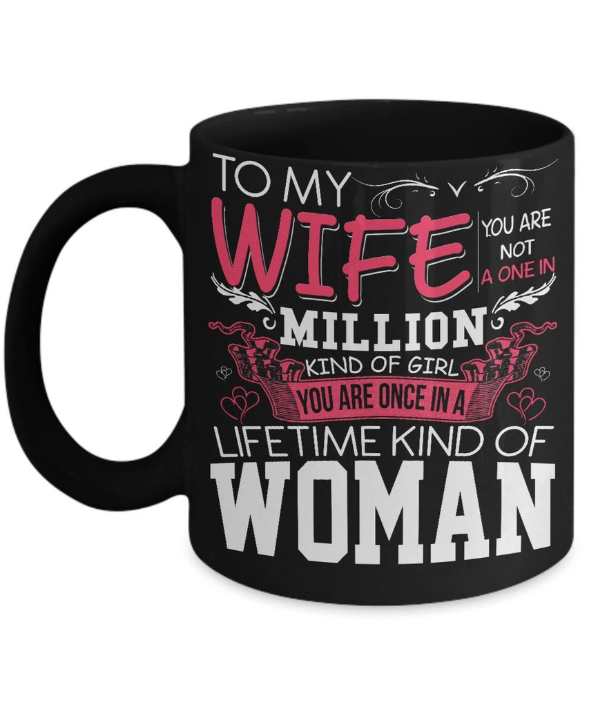 "Mug - One In A Million Mug"" COFFEE  MUG For Couples Valntine's Special"