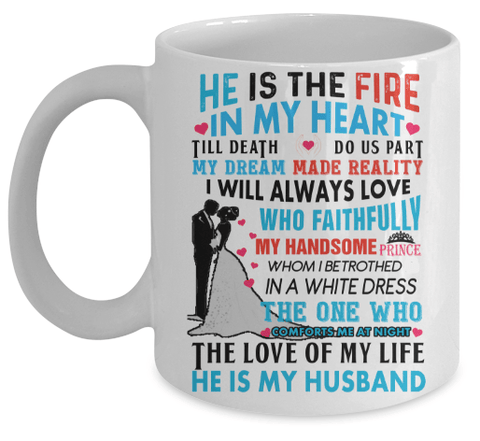 "Mug - Relationship Goals"" COFFEE  MUG For Couples Valntine's Special"
