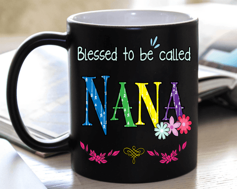 """Blessed to be called Nana..."" Mug(flat shipping)"