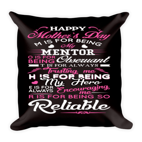 """Mother's Day"" Pillow Cover(Flat Shipping)"