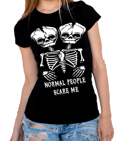 """NORMAL PEOPLE SCARE ME""(50% Off Today) Flat Shipping.(Halloween Special)"