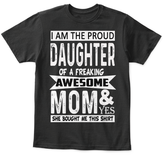 T-shirt - I AM PROUD SON OR DAUGHTER T-SHIRT (75% OFF Today)