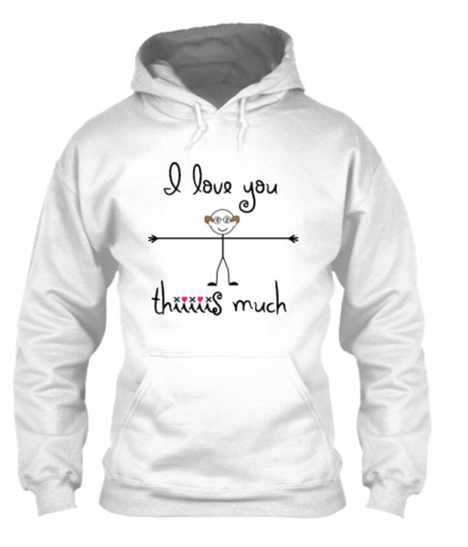 "T-shirt - ""I Love You Thiiis Much"" For Parents/Grandparents"