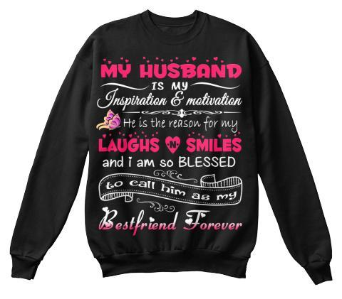 T-shirt - MY HUSBAND IS My Inspriation, 70% OFF TODAY.