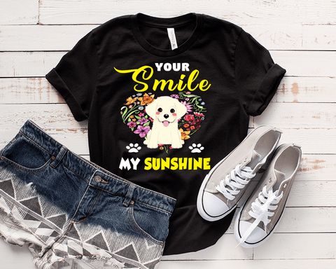 """Your Smile My Sunshine"" T-Shirt"
