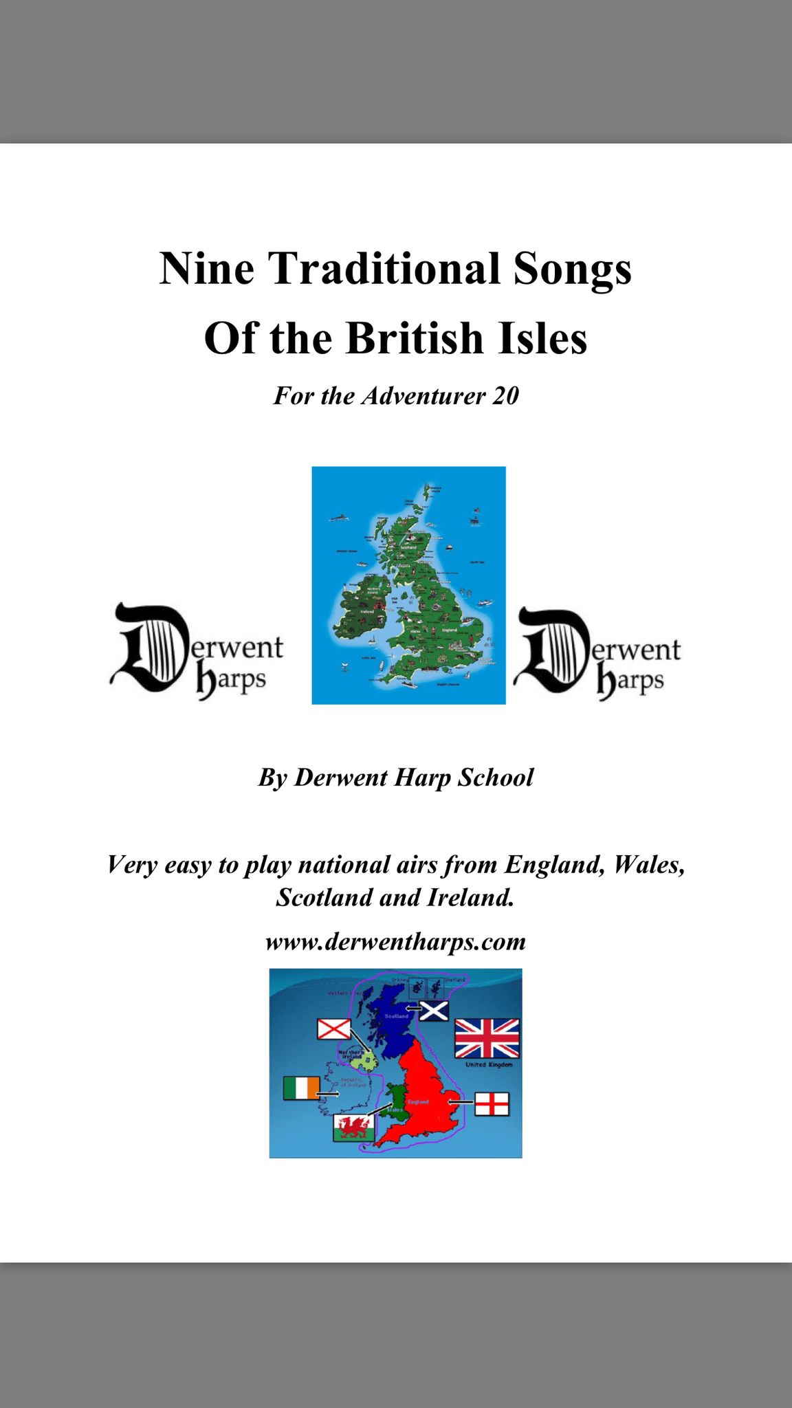 Nine Traditional Songs of the British Isles for the Adventurer 20