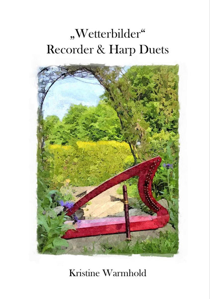 Adventuring With A Friend - duets for Adventurer 20 Harp and Recorder By Kristine Warmhold