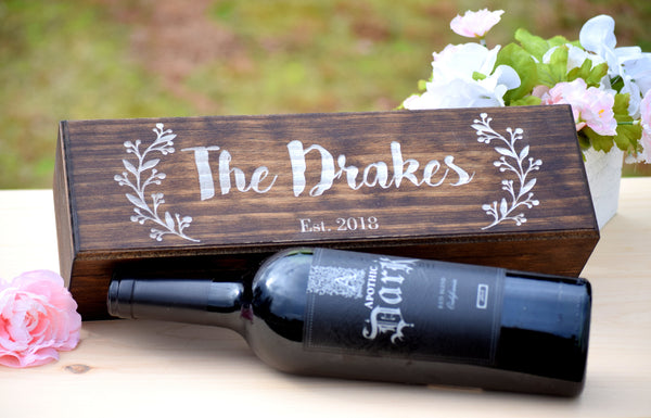 Personalized Wine Box