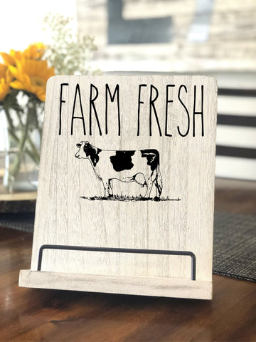 Farm Fresh Cookbook Stand