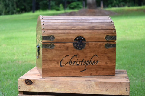 Personalized Kids Treasure Chest