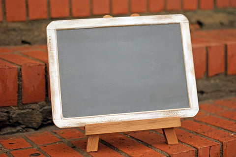 7x10 Distressed Chalkboard