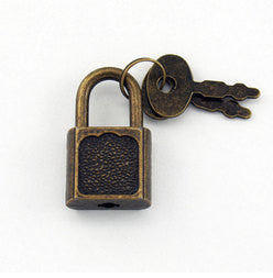 Mini Padlock with 2 Keys