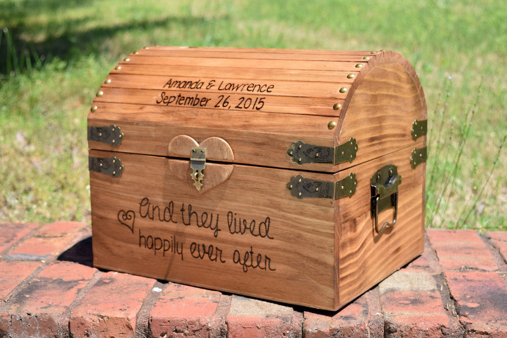 And They Lived Happily Ever After Card Box