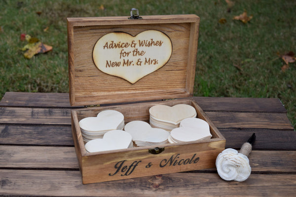 Personalized Guest Book Alternative Box