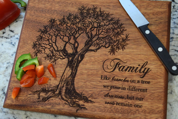 Family Tree Cutting Board