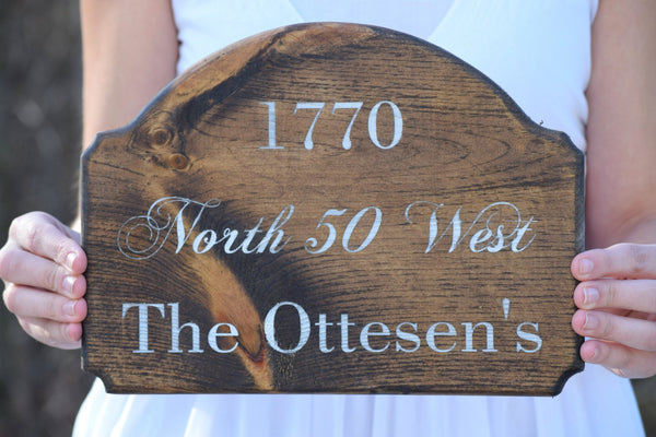 Personalized Home Address Plaque