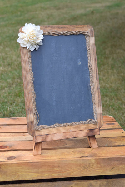 7x10 Chalkboard with Matching Easel