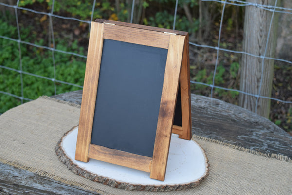 2 Sided Self Standing 8x10 Chalkboard